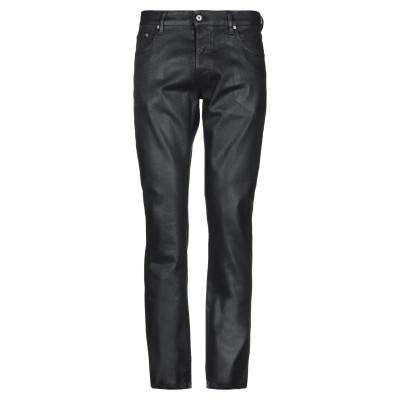 ジャストカヴァリ JUST CAVALLI パンツ ブラック 31 コットン 98% / ポリウレタン 2% / 牛革 パンツ