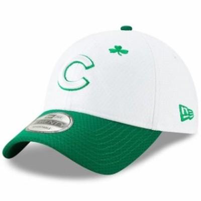 New Era ニュー エラ スポーツ用品  New Era Chicago Cubs White/Kelly Green 2019 St. Patricks Day 9TWENTY Adjustable Hat