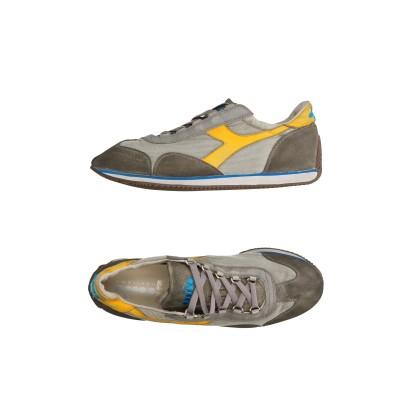 DIADORA HERITAGE スニーカー&テニスシューズ(ローカット) 鉛色 3.5 革 / 紡績繊維 スニーカー&テニスシューズ(ローカット)