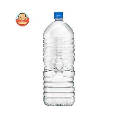 アサヒ飲料 おいしい水 天然水 ラベルレスボトル 2Lペットボトル×6本入
