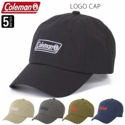 コールマン Coleman ロゴキャップ 帽子 キャップ ロゴキャップ 大人 アウトドア  ブランド サイズ調節可能 日よけ対策 ブランドキャップ