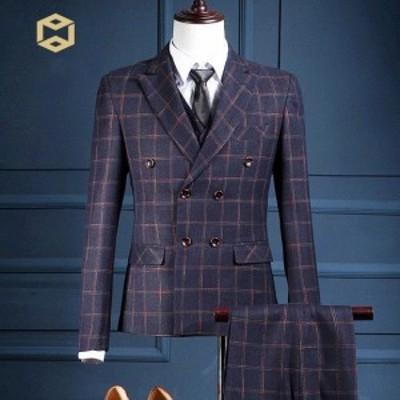 フォーマルスーツ ビジネススーツ 3点セット メンズ スーツ スリーピーススーツ セットアップスーツ 成人式 結婚式 紳士服 入学式 新作