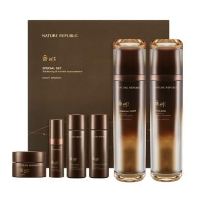 ネイチャーリパブリック  ユリー 2種企画セット NATURE REPUBLIC Yuli Skin  Emulsion Special Set