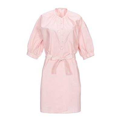セッスン SESSUN ミニワンピース&ドレス ライトピンク XS コットン 100% ミニワンピース&ドレス