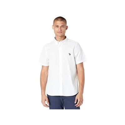 ポール・スミス Zebra Badge Tailored Fit Short Sleeve Shirt メンズ シャツ トップス White