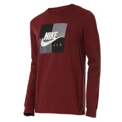 【即納】ナイキ NIKE メンズ 長袖Tシャツ トップス ロンT ロングT ロングスリーブ Graphic Long Sleeve T-Shirt Dark Team Red/Black/Gre