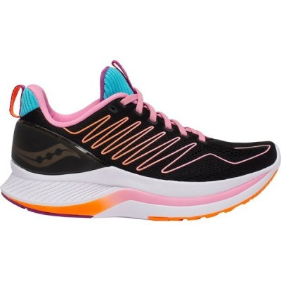 サッカニー シューズ レディース ランニング Saucony Women's Endorphin Shift Running Shoes Black