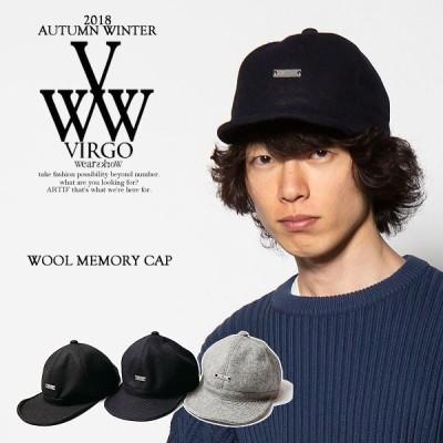 50%OFF SALE セール ヴァルゴ キャップ VIRGO WOOL MEMORY CAP