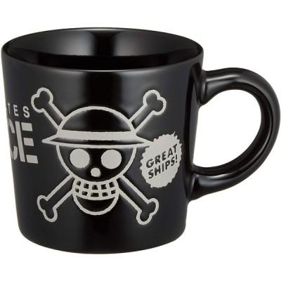 アニメ 「 ワンピース(ONE PEICE) 」 海賊旗 撥水 マグカップ 250ml ブラック 121143