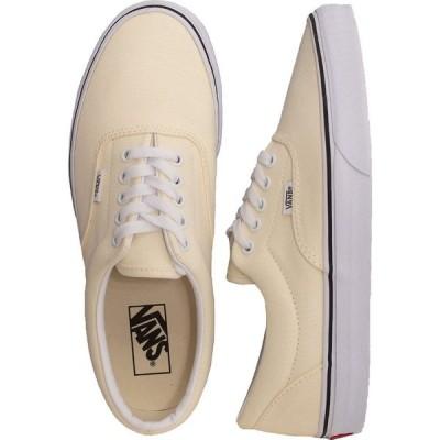 ヴァンズ Vans メンズ スケートボード シューズ・靴 - Era Classic White/True White - Shoes beige