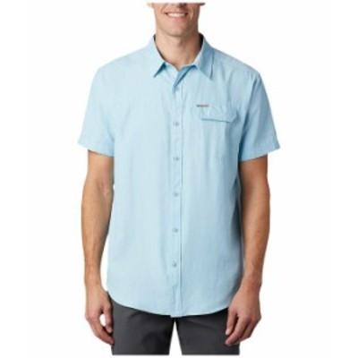 コロンビア メンズ シャツ トップス Smith Creek¢ Woven Short Sleeve Shirt Sky Blue