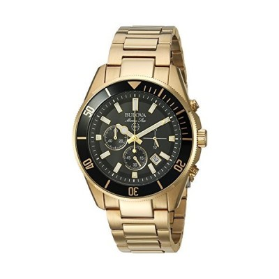 Bulova Men's 98B250 Analog Display Quartz Two Tone Watch[並行輸入品]