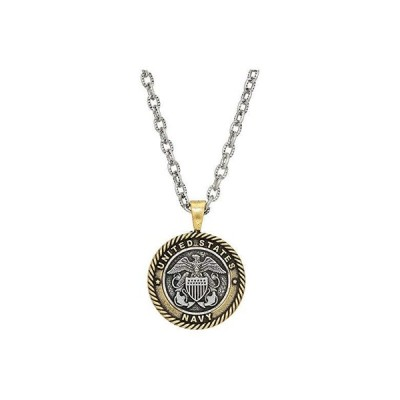"""Alex and Ani Navy 28"""""""" Necklace レディース ネックレス Two-Tone"""
