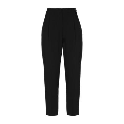 WEEKEND MAX MARA パンツ ブラック 46 アセテート 72% / ポリエステル 28% パンツ