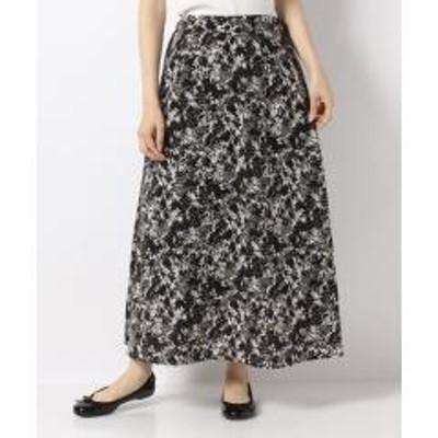 テチチ【Lugnoncure】花柄フレアスカート