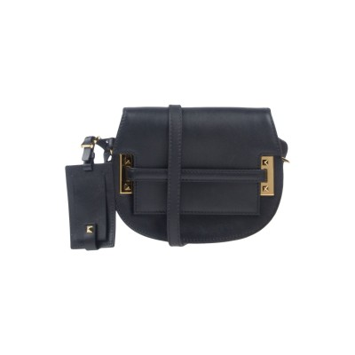VALENTINO GARAVANI メッセンジャーバッグ ブラック 革 メッセンジャーバッグ
