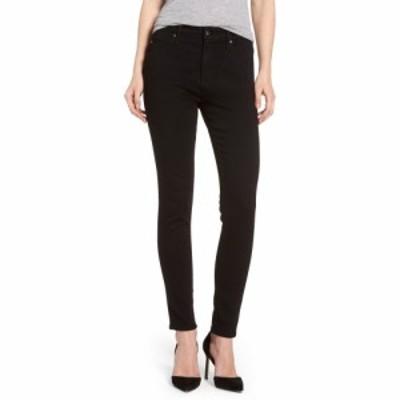 エージー AG レディース ジーンズ・デニム ボトムス・パンツ Farrah High Waist Ankle Skinny Jeans Super Black