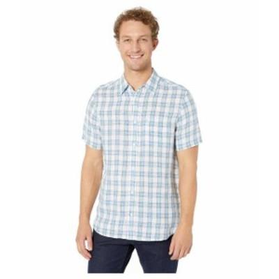 Calvin Klein カルバンクライン 服 一般 Short Sleeve Woven Linen Button Down Shirt