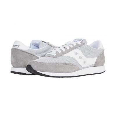 Saucony Originals サッカニー レディース 女性用 シューズ 靴 スニーカー 運動靴 Hornet - Grey/White