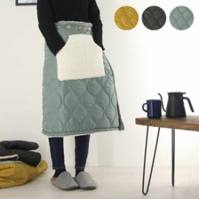 キルティング×ボア 巻きスカート(キルティング ボア 巻きスカート お洒落 おしゃれ かわいい 女性 暖かい 寒さ対策) 即納