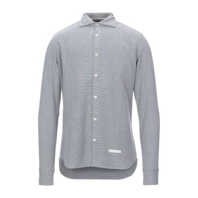 TINTORIA MATTEI 954 シャツ ライトグレー 40 コットン 100% シャツ