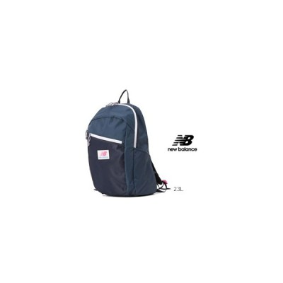 NewBalance ニューバランス  JABL0674 ナイロン 軽量バックパック 23L ネイビー 紺 Athleticシリーズ