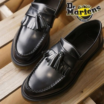 Dr.Martens ドクターマーチン タッセルローファー ADRIAN アドリアン メンズ・レディース ブラック 靴  14573001 FW18