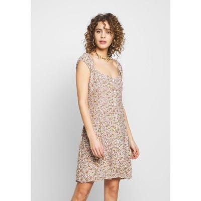 ローラズ ワンピース レディース トップス ERIN COAST FLORAL DRESS - Day dress - white