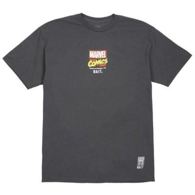 ユニセックス 衣類 アパレル BAIT x Marvel Comics Men Carnage Vs Venom Tee (gray)