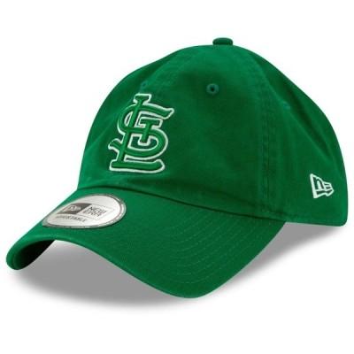ニューエラ メンズ 帽子 アクセサリー St. Louis Cardinals New Era St. Patrick's Day Casual Classic Adjustable Hat