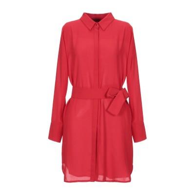SOALLURE ミニワンピース&ドレス レッド 46 ポリエステル 100% ミニワンピース&ドレス