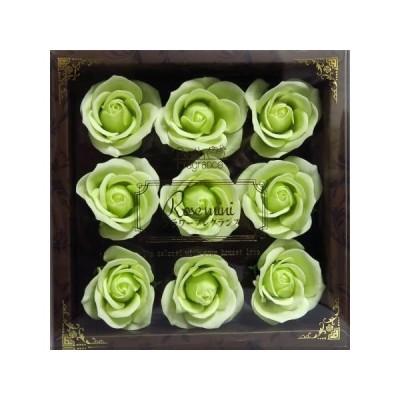 お花の入浴剤 ソープフラワー 花材 ギフト フレグランス プリザーブドフラワー 母の日 結婚式 記念日 誕生日 プロポーズ ローズ プレゼント 女性 グリーン