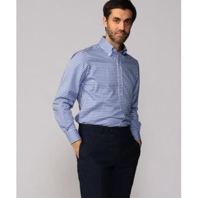 【トゥモローランド】 120/2コットンブロード ワイドカラー ドレスシャツ NEW WIDE−5 メンズ 66ブルー系 40 TOMORROWLAND
