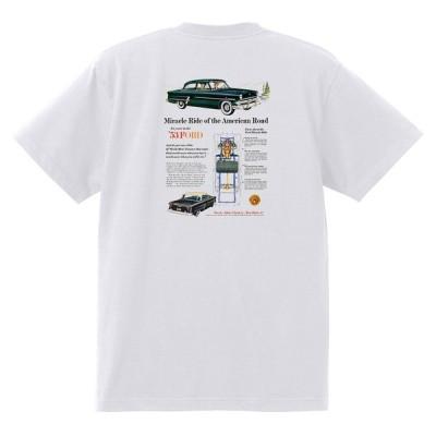アドバタイジング フォード Tシャツ 白 1019 黒地へ変更可 1953 ランチワゴン ビクトリア オールディーズ ロカビリー ホットロッド