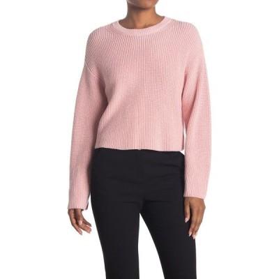 ラグアンドボーン レディース ニット&セーター アウター Jubilee Metallic Crop Sweater PALEPNK