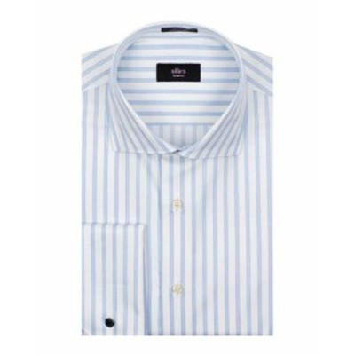 Alara  ファッション アウター Alara Slim Fit French Cuff Dress Shirt 16.5 32/33