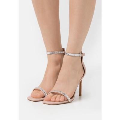 レディース サンダル ONLALYX LIFE STONE - High heeled sandals - beige