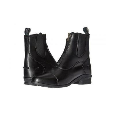 Ariat アリアト レディース 女性用 シューズ 靴 ブーツ スポーツブーツ Heritage IV Zip Paddock - Black