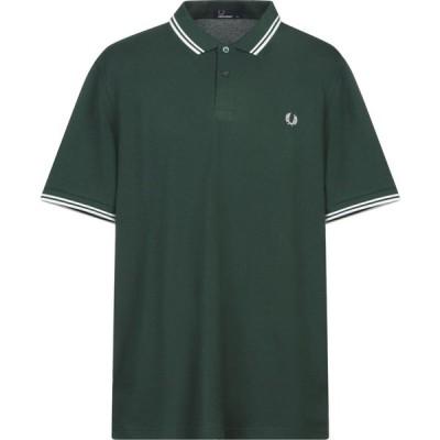フレッドペリー FRED PERRY メンズ ポロシャツ トップス polo shirt Dark green