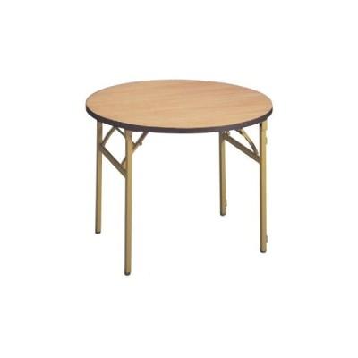 テーブル 白木テーブル丸(ソフトエッジ) 高さ700 直径:900/業務用/新品