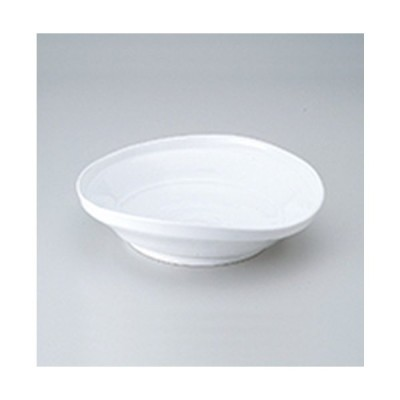 多用鉢 和食器 / 白磁たわみ8.0鉢 寸法:23 x 22 x 5.5cm