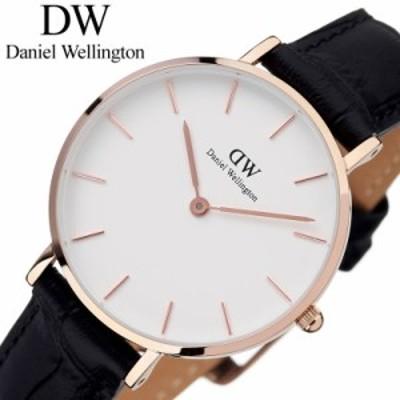 DanielWellington 腕時計 ダニエルウェリントン 時計 プチ リーディング ローズ 32mm Petite Reading Rose レディース 腕時計 ホワイト D