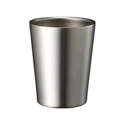 ゴーウェル TWs コンビニ タンブラー 真空 断熱 保冷 保温 ステンレス おしゃれ サーモ コップ (コンビニ (シルバー 360ml)