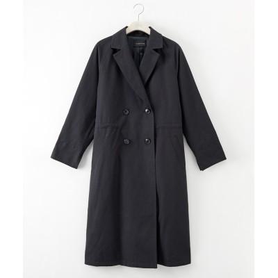 大きいサイズ ウエストインドロストダブルトレンチコート ,スマイルランド, コート, plus size coat