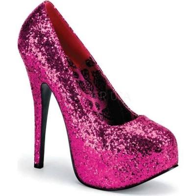ボルデロ レディース ヒール シューズ Teeze 06G High Heel Hot Pink Glitter