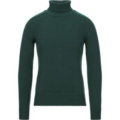 ロベルトコリーナ ROBERTO COLLINA メンズ ニット・セーター トップス turtleneck Green