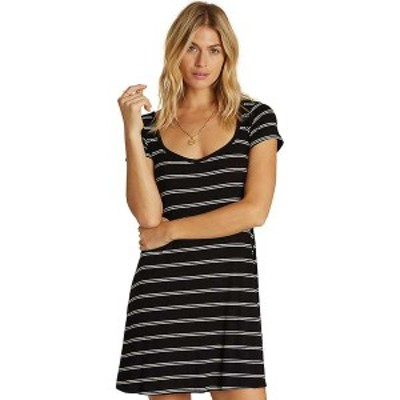 ビラボン レディース ワンピース トップス Billabong Women's Right Away Dress Black