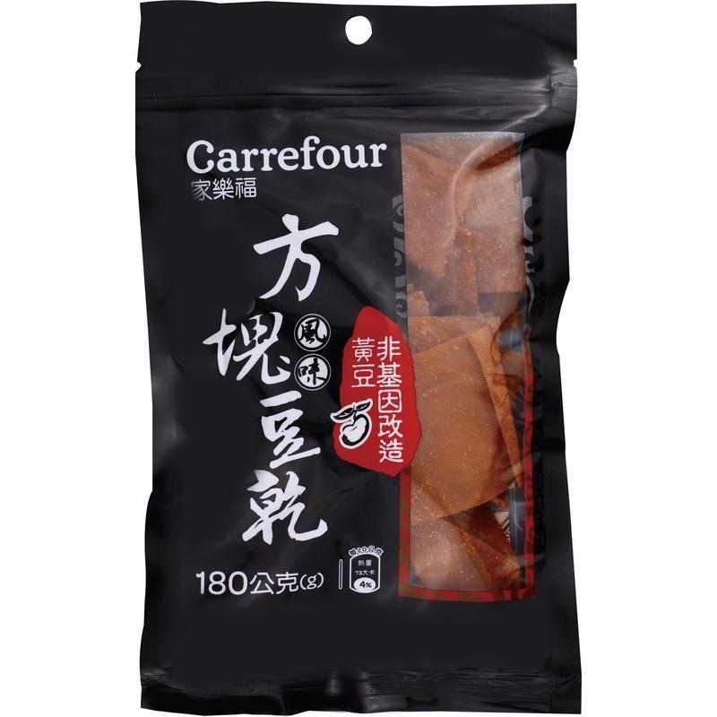 家樂福方塊風味豆乾(非基改)