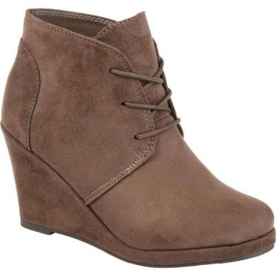 ジュルネ コレクション Journee Collection レディース ブーツ シューズ・靴 Enter Bootie Taupe