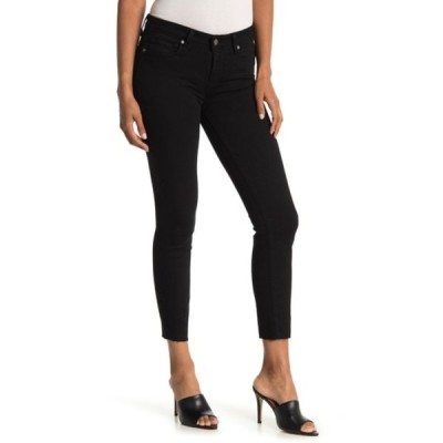 ペイジ レディース デニムパンツ ボトムス Verdugo Cropped Skinny Jeans BLKOVERDYE